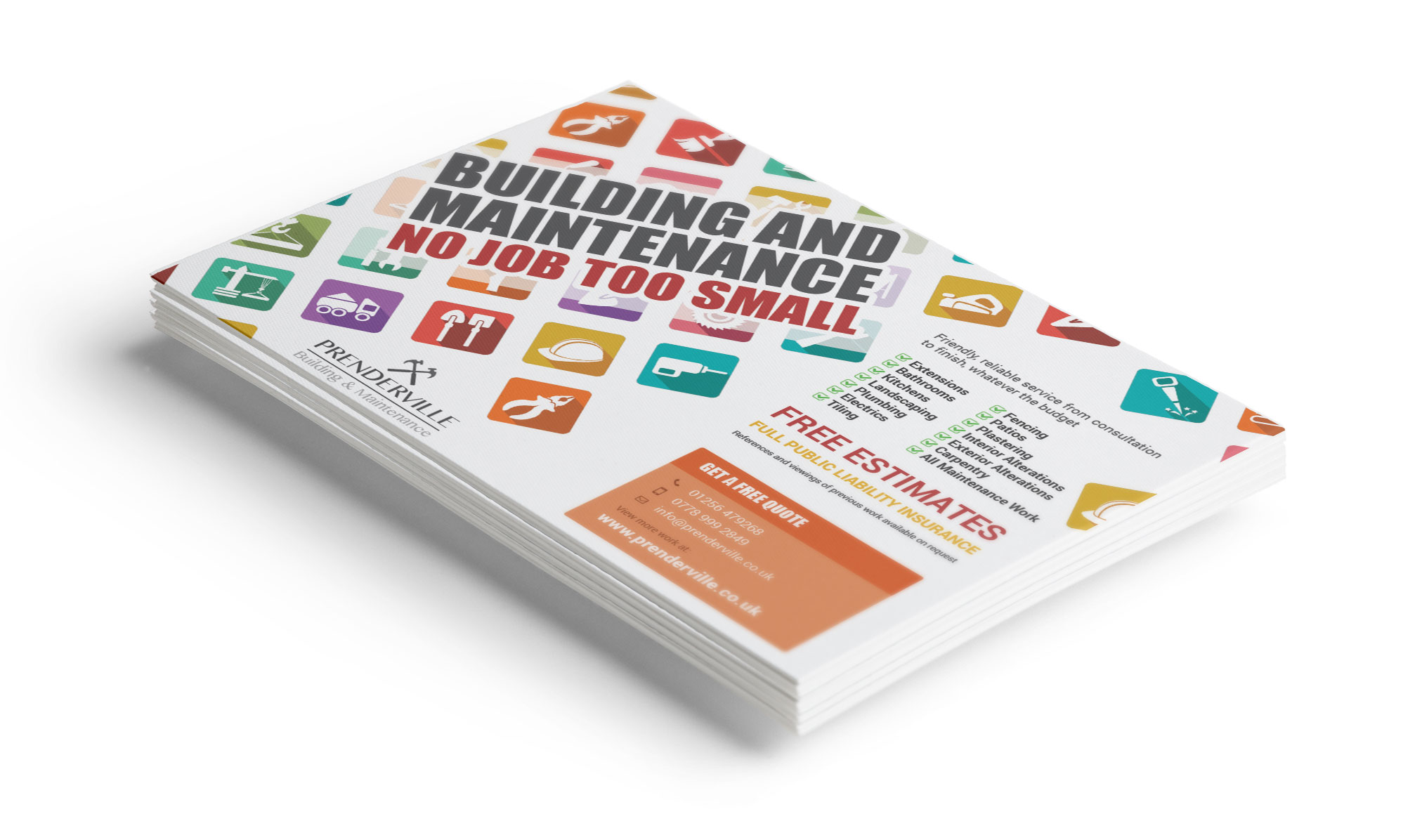 Building Company Flier Design