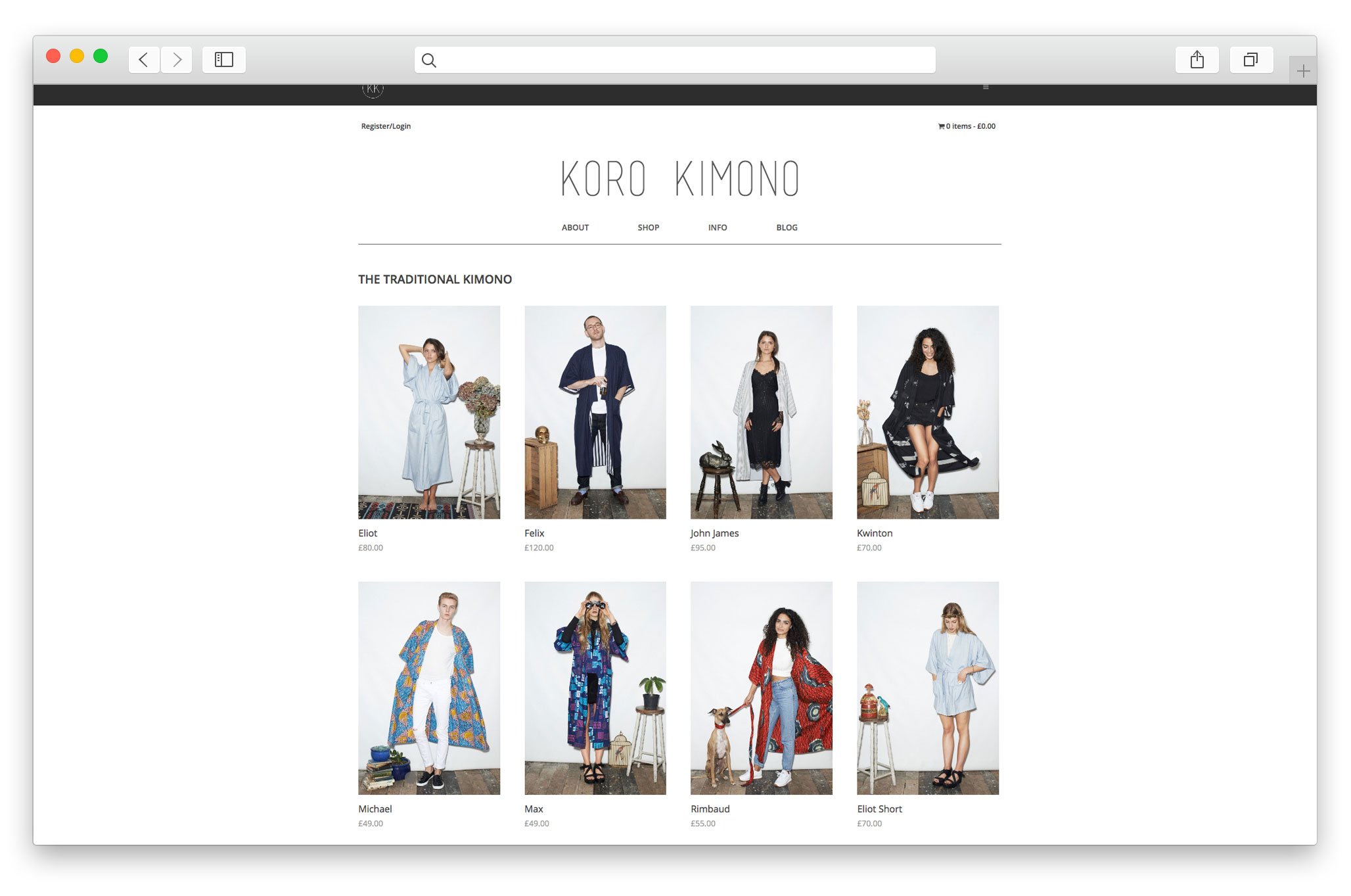 Fashion E Commerce Website Design Company Startup