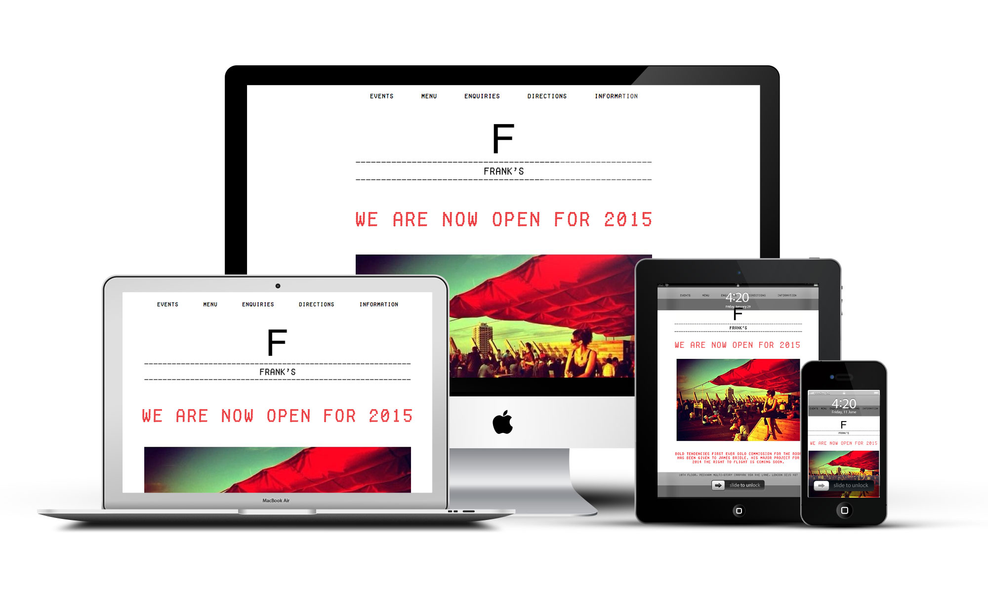 Modern Bar Responsive Website Design
