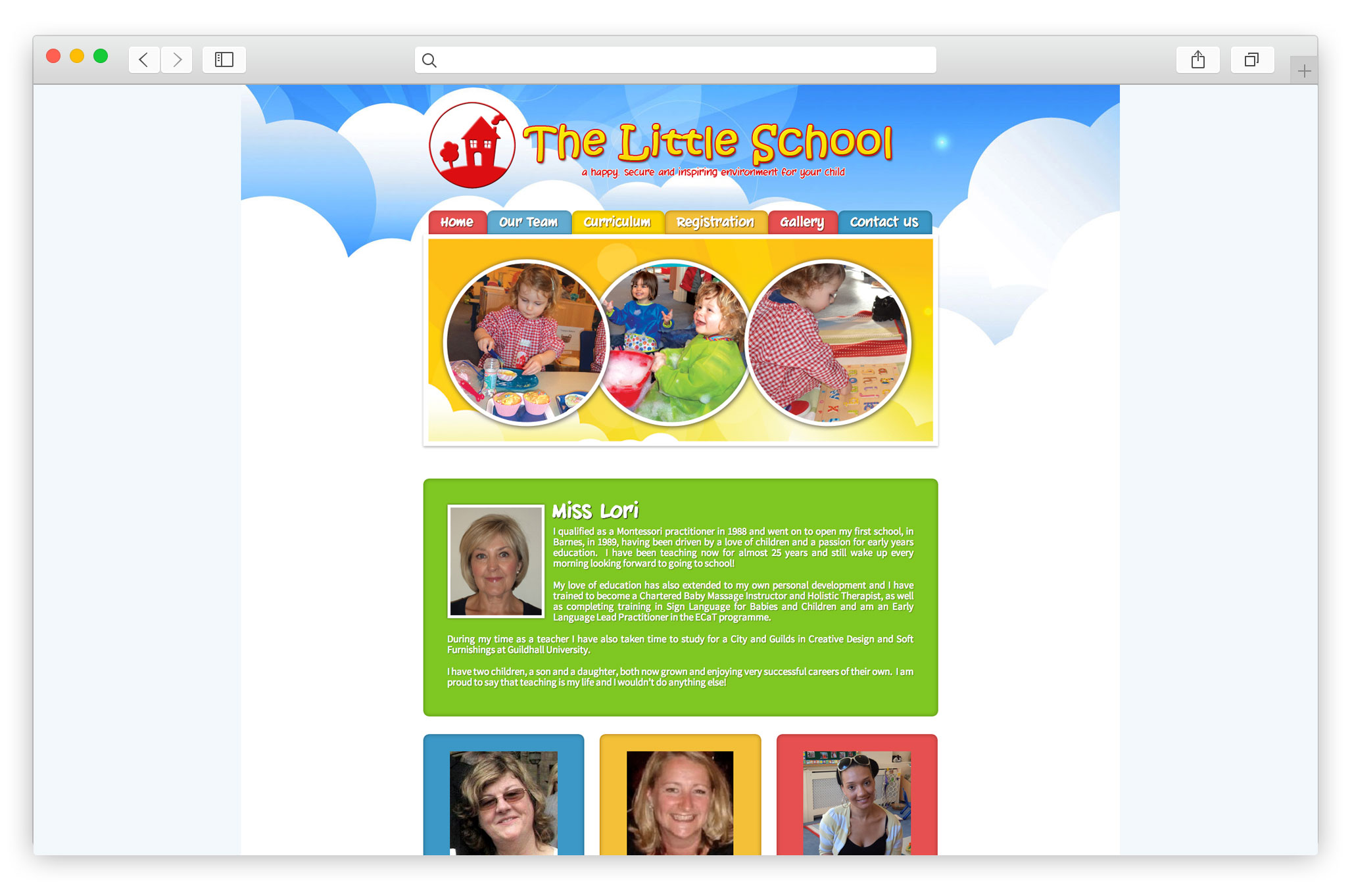 Nursery School Website Design Company