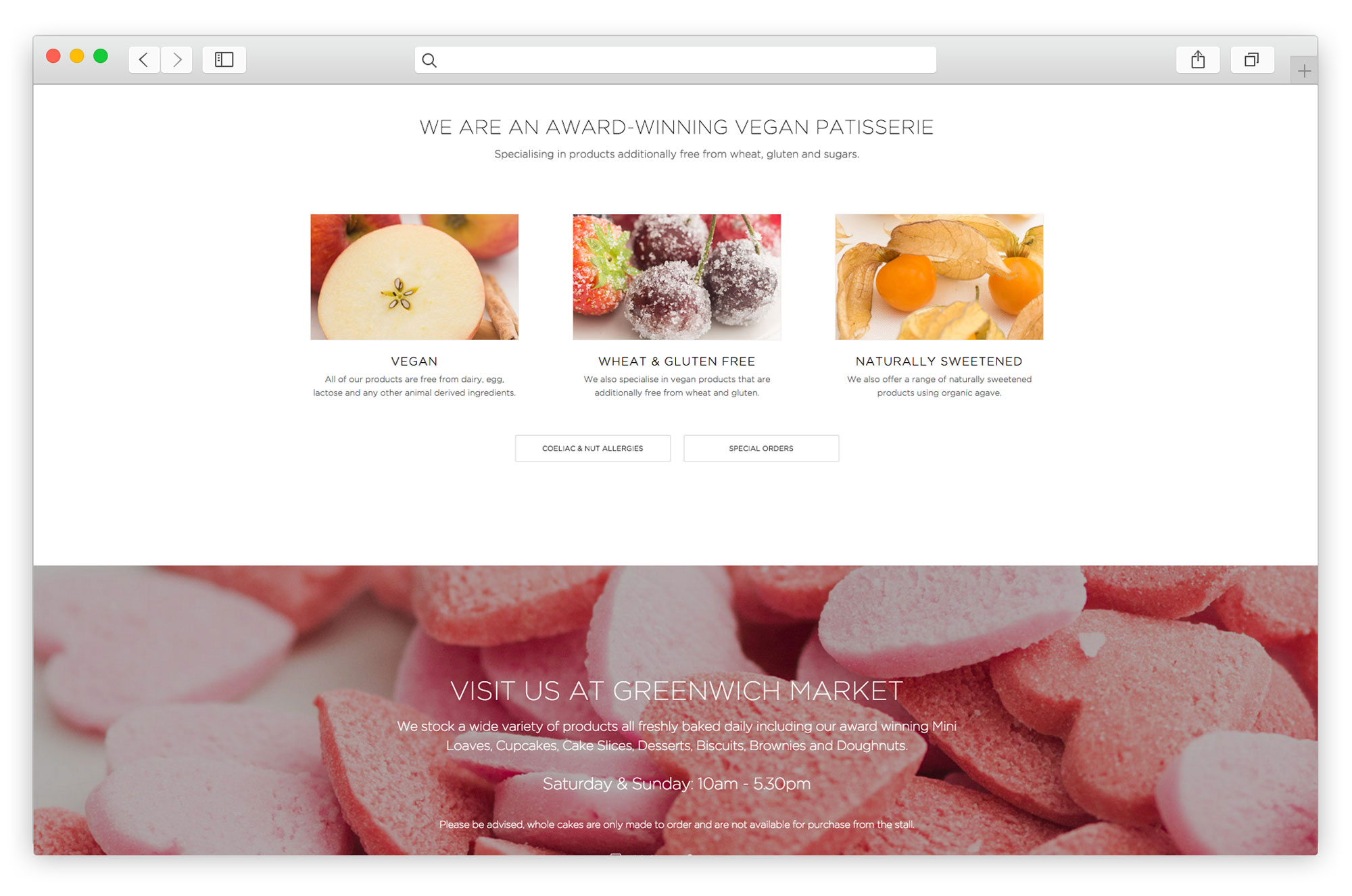 Website Bakery E-Commerce