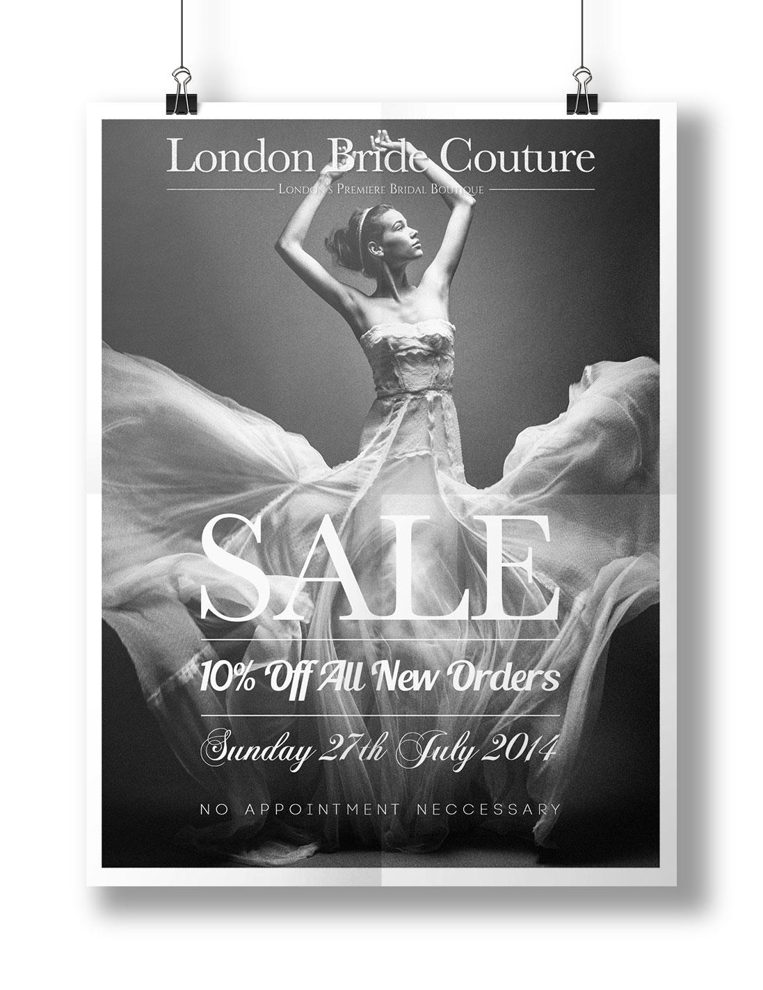 Wedding Company Sale Poster